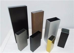 Aluminum Sand Brushing Profiles In Good Quality