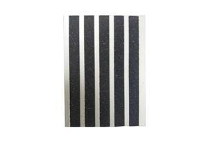 Aluminium Dark Carborundum Stair Nosing