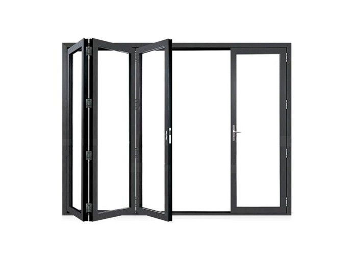 Frameless Glass Folding Door Manufacturers, Frameless Glass Folding Door Factory, Supply Frameless Glass Folding Door