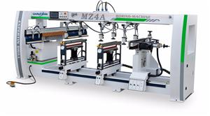 Four line boring machine