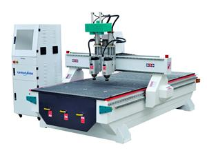 Three Head Cnc Router