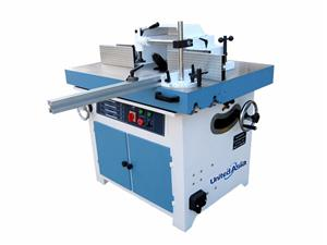 Spindle moulder with degree titling