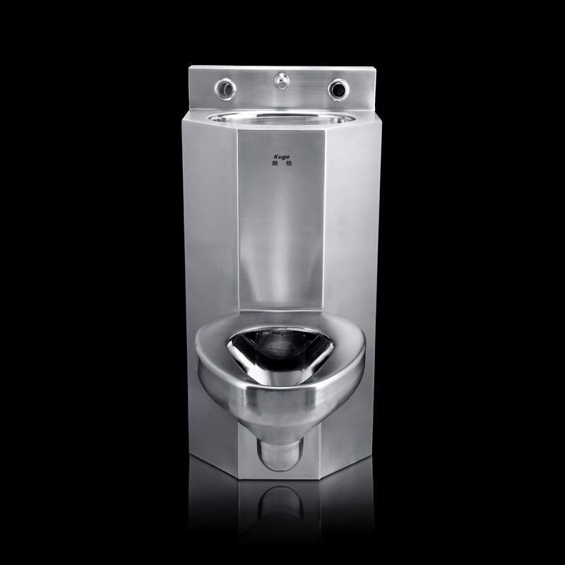 Stainless Steel Combination Toilet For Prison