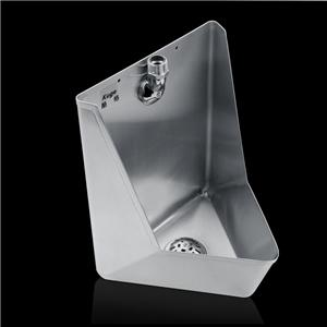 Stainless Steel Corner Wall Mount Urinal