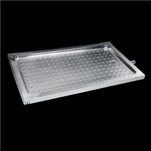 Stainless Steel Long Shower Tray
