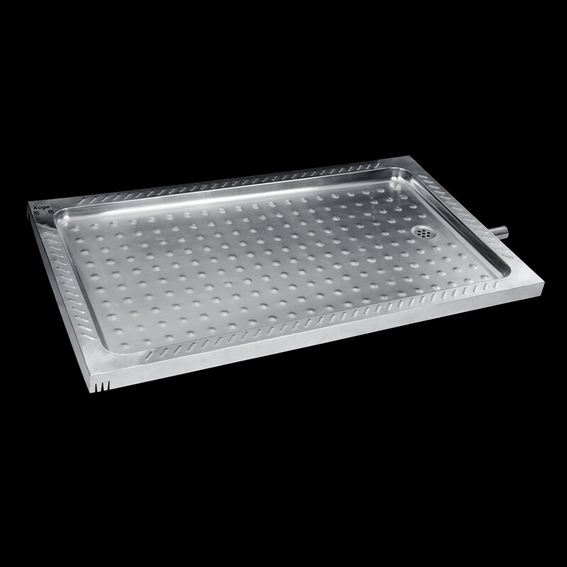 stainless shower tray