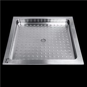 750mm Stainless Steel Shower Tray