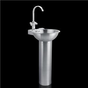 Stainless Steel Pedestal Basin Sink