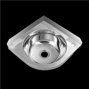 Stainless Steel Corner Wash Wash Basin