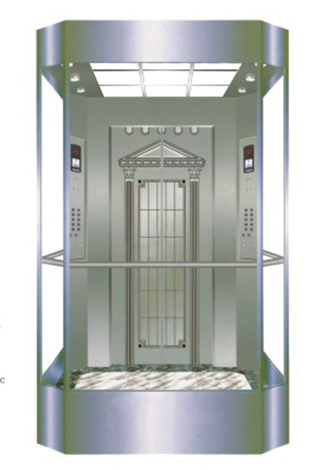 קנה 600-1000 זכוכית נירוסטה חדר קטן מכונת ק