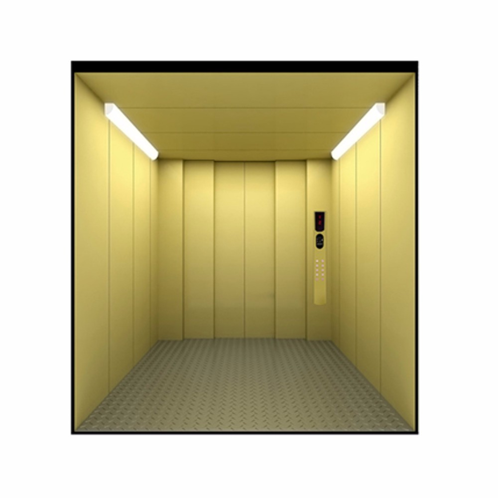 Machine Room Less Cargo Lift AC Drive Warehouse Use