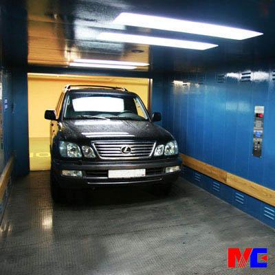 מעלית מכונית משומשת