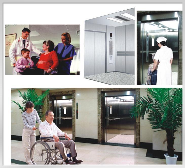elevator used in hospital