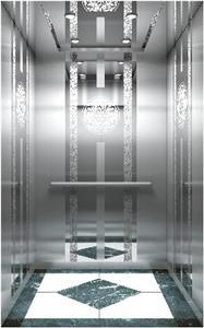 China FUJIZY Brand Building VVVF Traction Passenger Lift