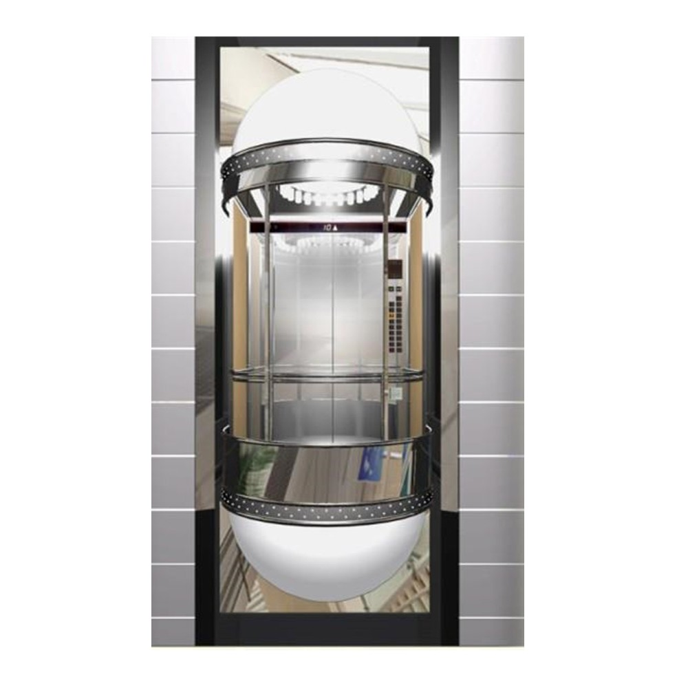Beautiful design, high quality and a full range of panoramic elevators