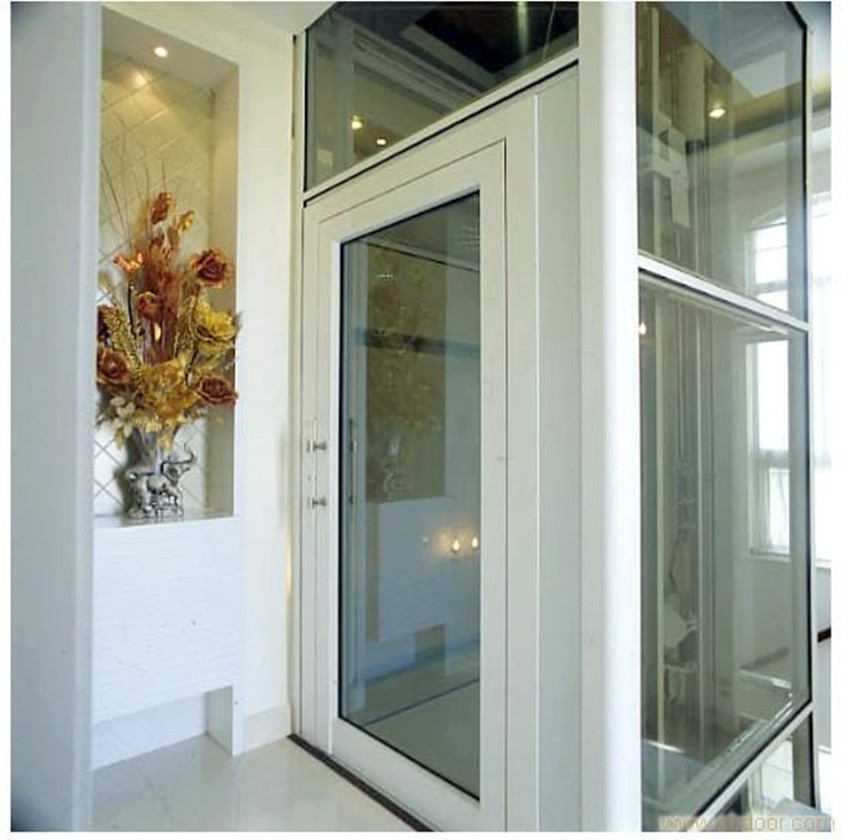 AC drive type outdoor home villa elevator