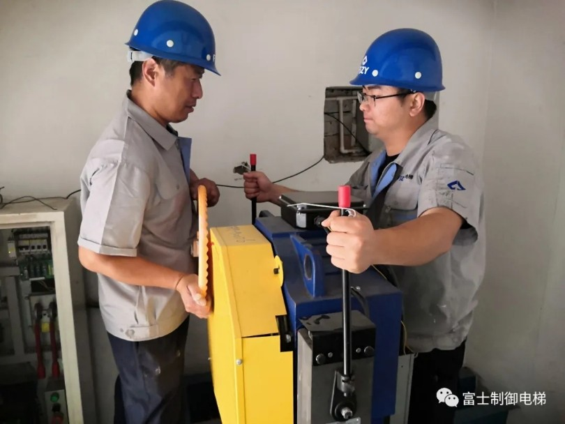Shandong thang máy FujiIZY Co., Ltd tổ chức tập thể dục cứu hộ