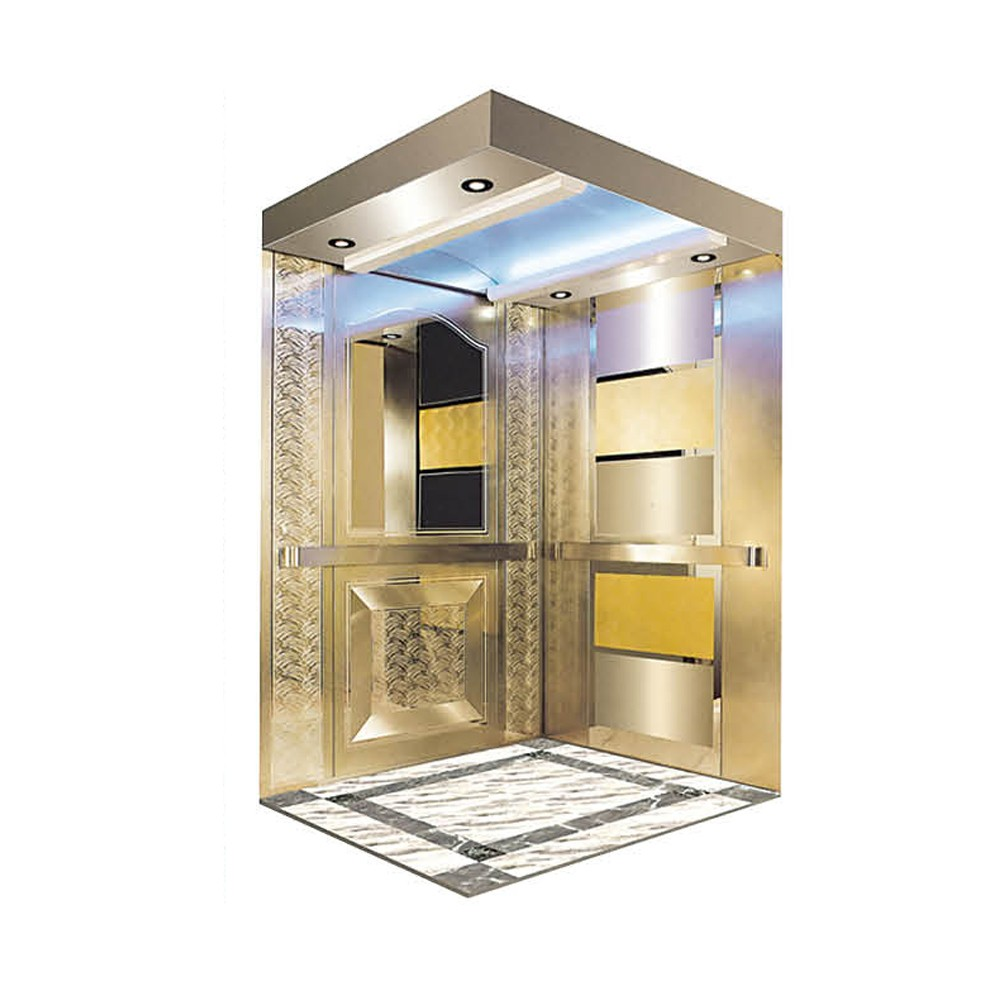 FUJI ZY Home Lift / Villa Elevator used home lift Equipped with Permanent magnet synchronous gearless tractor