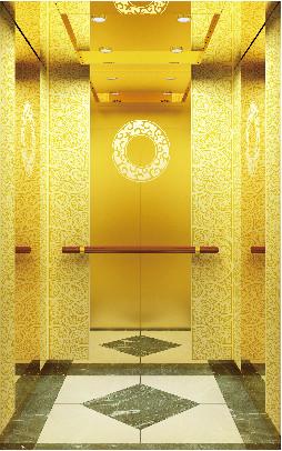 FUJIZY 450kg-1600kg VVVF passenger elevator