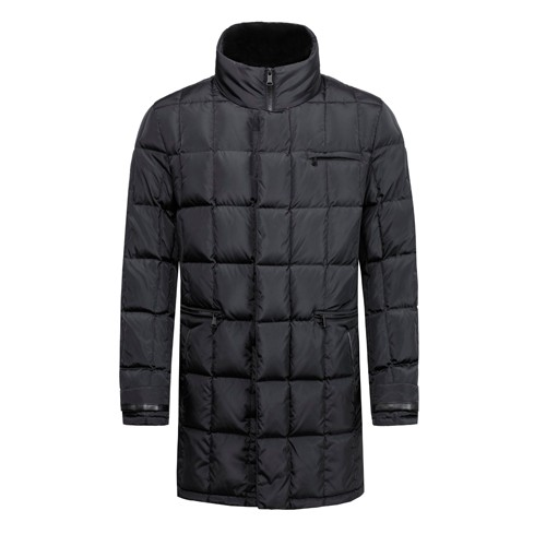 Men's Down Jacket and Quilted Winter Long Coat