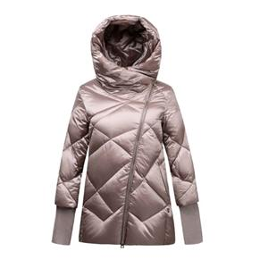 Women's Down Jacket and Coat Remoable Rib Cuff