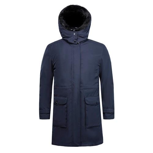 Casaco e jaqueta comprida feminina de duas peças Faux Fur