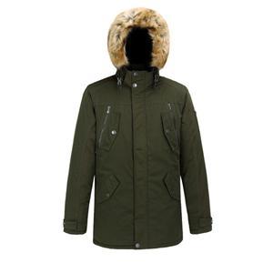 Casaco e casaco comprido acolchoado masculino