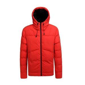 Casaco acolchoado de inverno masculino e jaqueta laranja