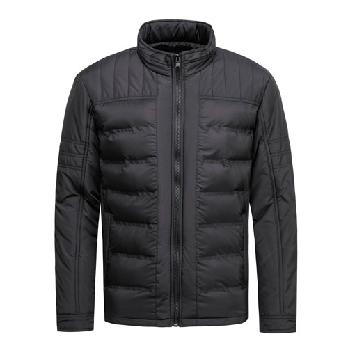 Men's Padded Jacket and Coat Fabric Gluing Process