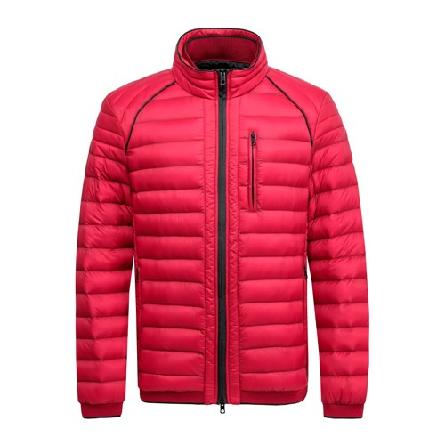 Men's Padded Winter Coat and Jacket Red Color