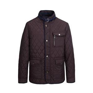 Jaqueta acolchoada masculina de inverno