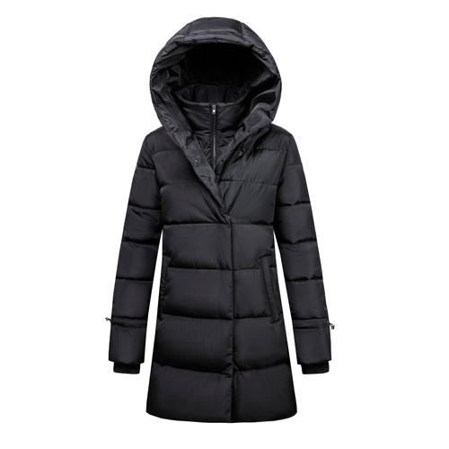 Veste et manteau à rembourrage long pour femmes