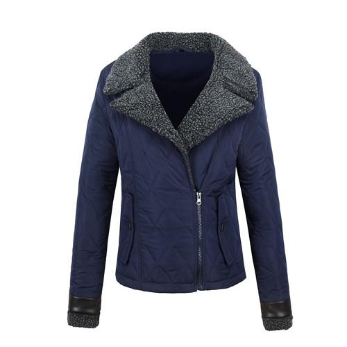 Women's Jacket with Shearing Sheep Fur