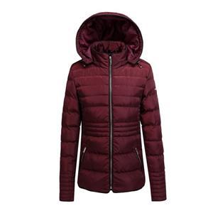 Женская стеганая куртка для улицы из полиэстера
