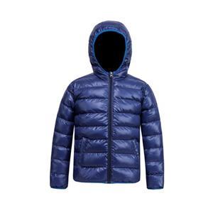 Casaco acolchoado curto casual de inverno para meninos
