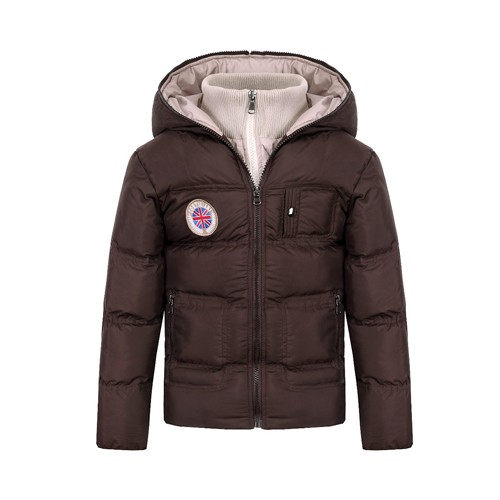 Boy's Padded Winter Jacket with Hood