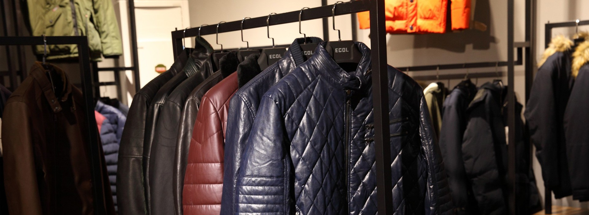 PU-Jacke für Herren
