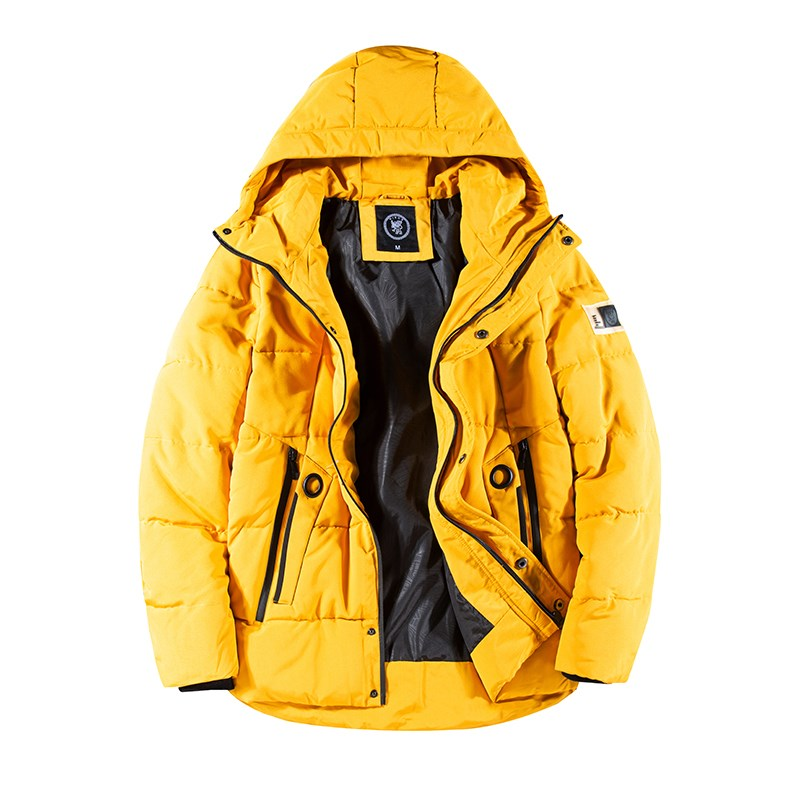 Men's Youth Mustard Fashionable Casual Jacket