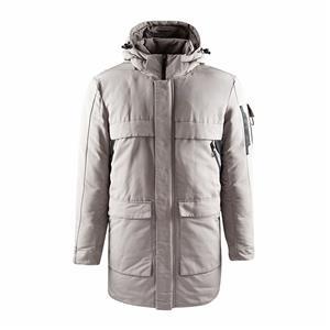 Casaco Longo Acolchoado Quente de Inverno Masculino com Capuz 2020