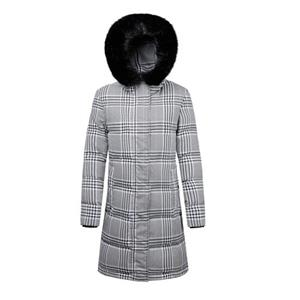 Women Down Hooded Long Jacket Coat