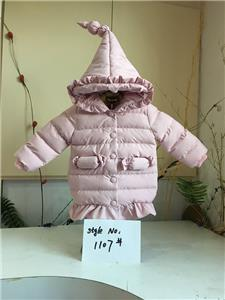 Girl Pretty Warm Padded Coat