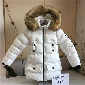 Girl Hooded Fashionable Coat