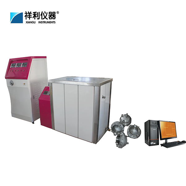 Plastic pipe hydrostatic pressure testing machine