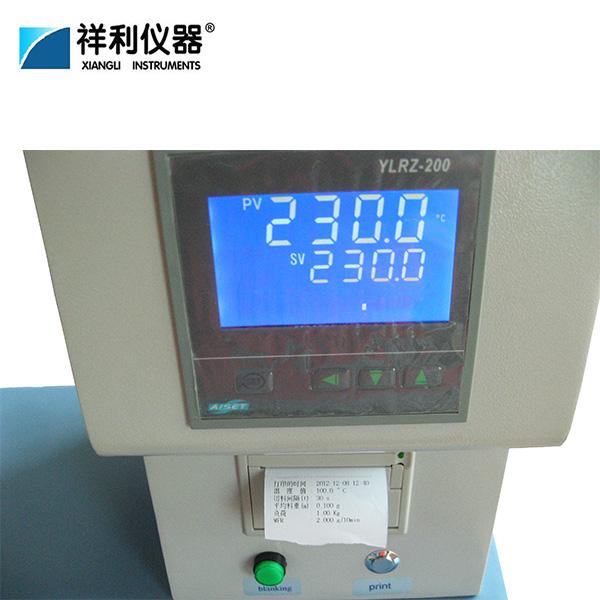 Printed melt flow rate instrument Manufacturers, Printed melt flow rate instrument Factory, Supply Printed melt flow rate instrument