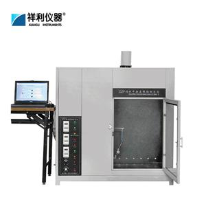 Level and direct combustion flame retardant analyzer
