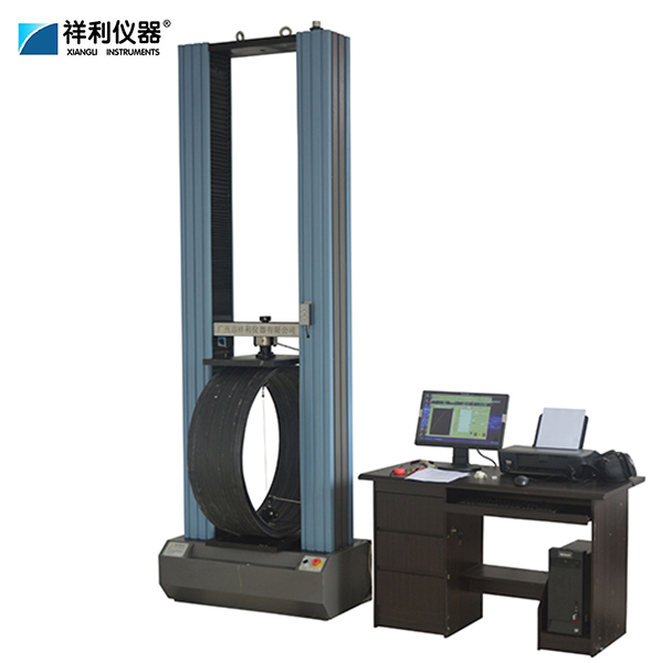 Ring stiffness test testing machine