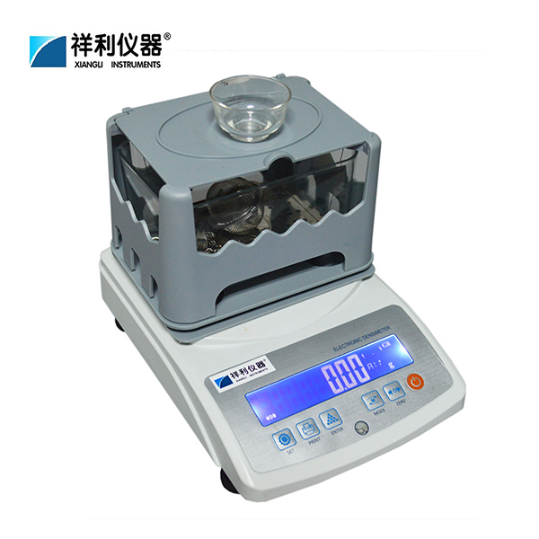 Weighting density testing machine