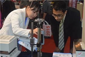 Testing machine on chinaplas 2017