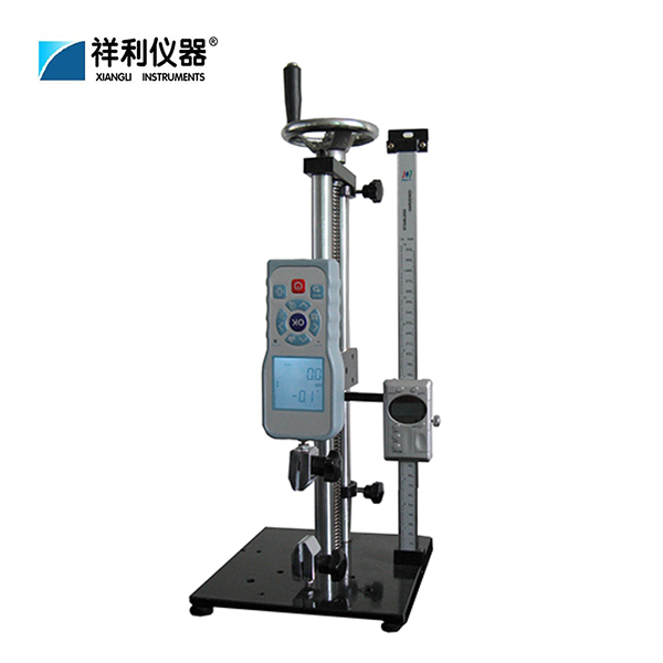 Vertical manual testing machine