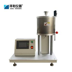 Touch control printed melt flow rate instrument